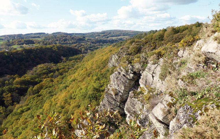 Paysage de la Roche d'Oëtre