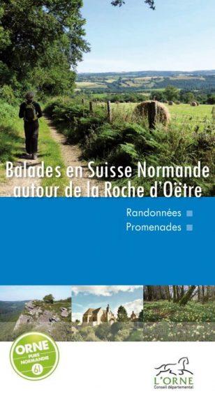 topo randonnée de la roche d'Oëtre en Suisse Normande (jaquette)