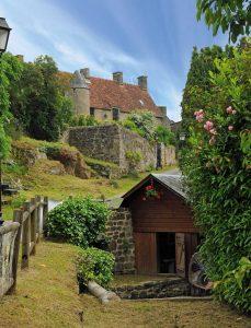 Lavoir et manoir Mont au duc à La Carneille