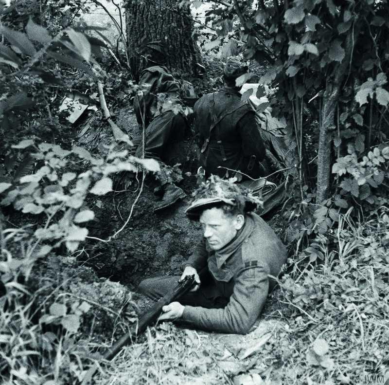 soldat britannique août 44 berjou