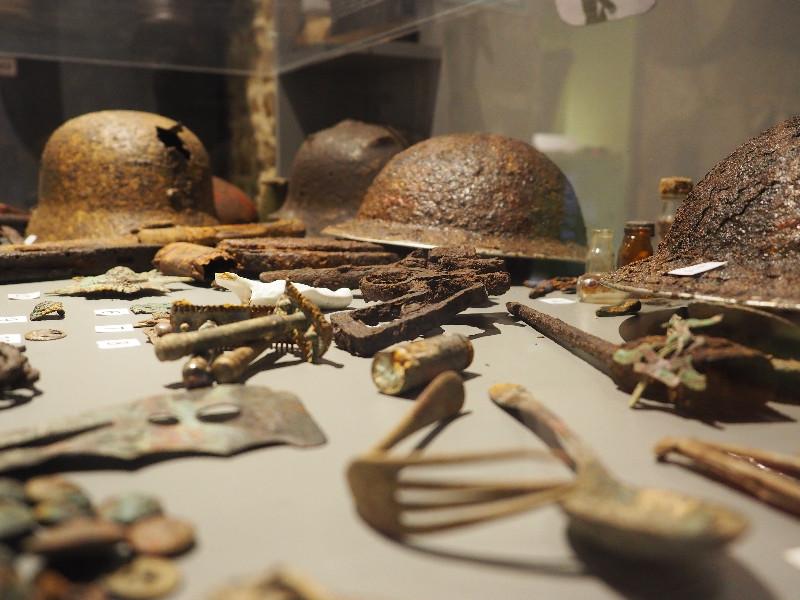 casques musée libération berjou 39-45
