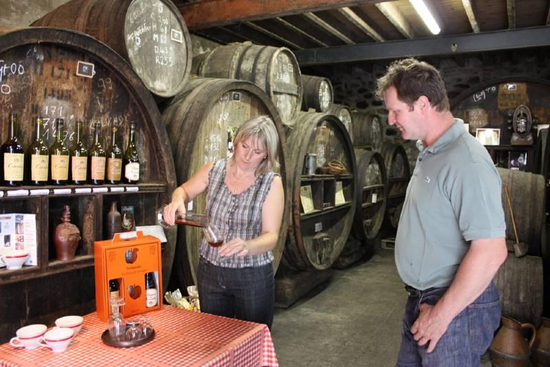 propriétaires de la distillerie de la monnerie