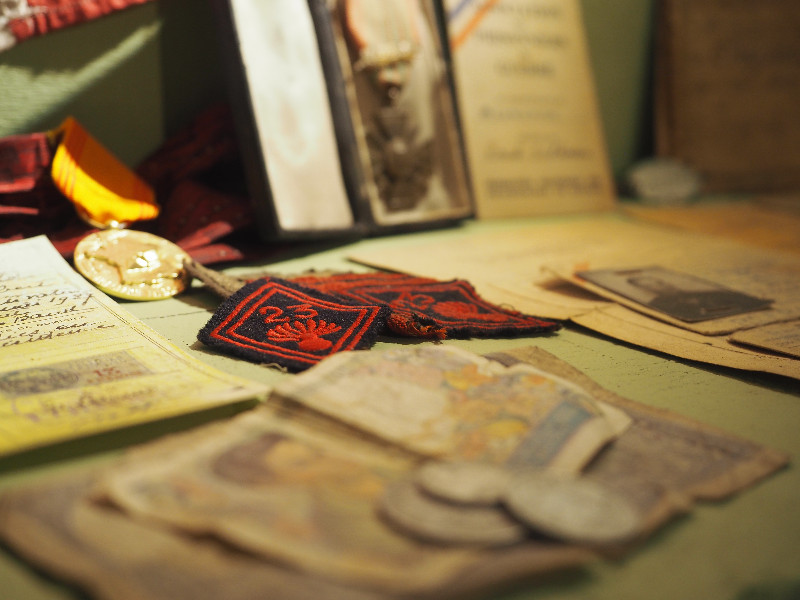 Intérieur musée liberation-berjou-credit-Liberation de Berjou 39-45