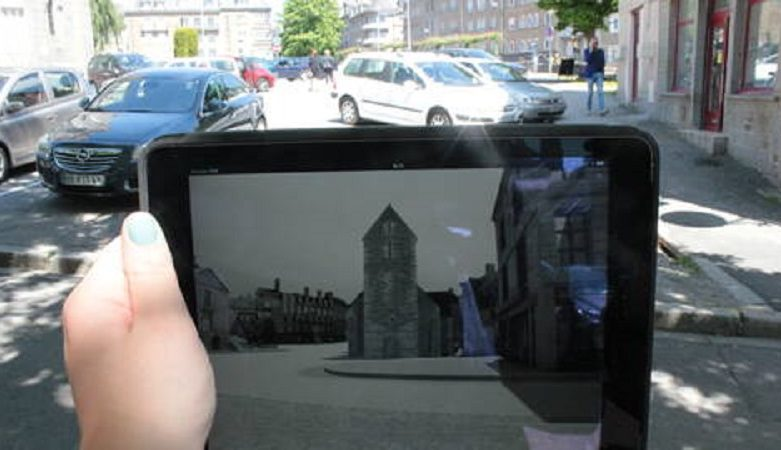 Tablette application flers virtuel