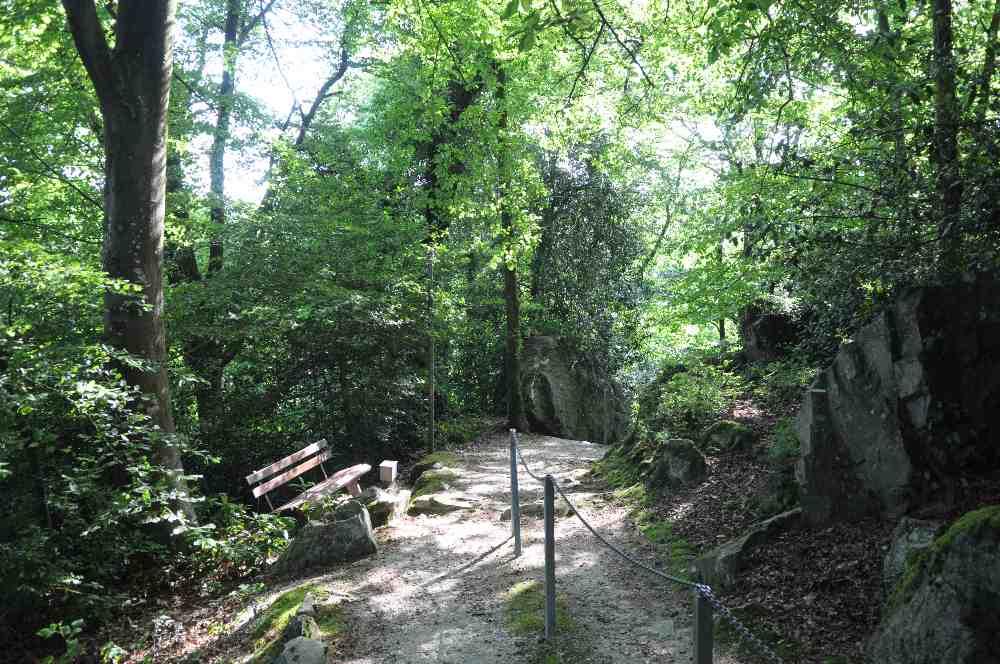 Chemin de croix mont brûlé la ferrière aux étangs