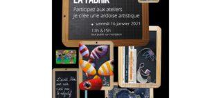 Atelier La Fabrik «création d'ardoise artistique»