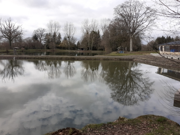 Aux 3 étangs à Bellou en Houlme