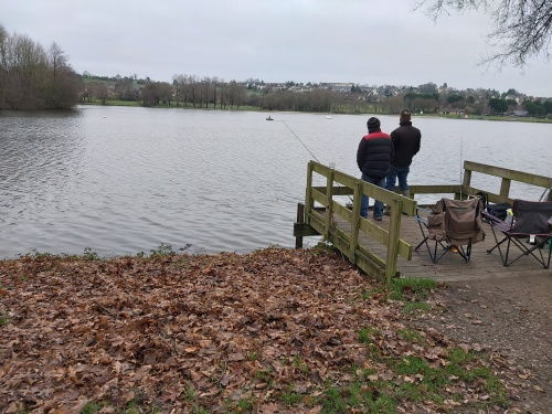 pêche au lac de La Ferté-Macé