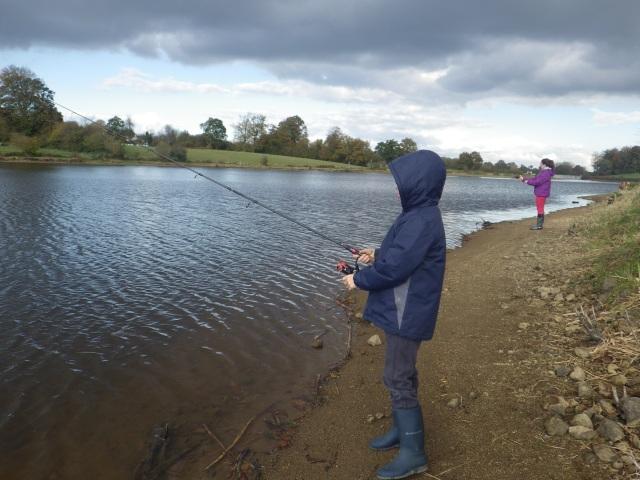 Pêche au Barrage de Landisacq